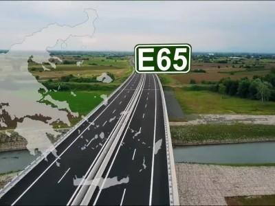 Πρόοδος εργασιών στο νότιο τμήμα του αυτοκινητοδρόμου Ε65- Φεβρουάριος 2020
