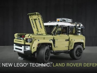 Νέο Land Rover DEFENDER LEGO Technic - Above and Beyond