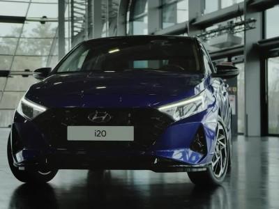 Η εμφάνιση του νέου Hyundai i20 2020