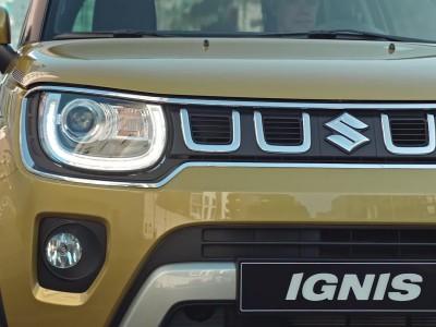 Suzuki Ignis Hybrid 2020 clip