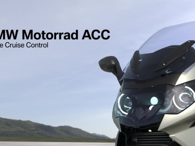 Active Cruise Control στις μοτοσικλέτες BMW