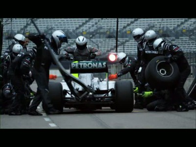 Mercedes GP Petronas Tyres