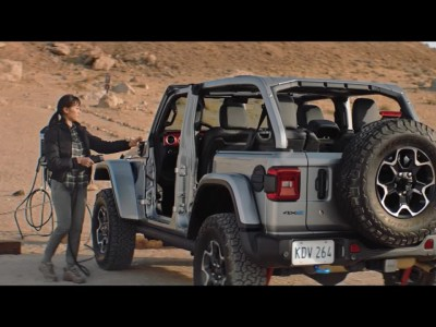 Το νέο Jeep Wrangler 4xe - Plug-in Hybrid