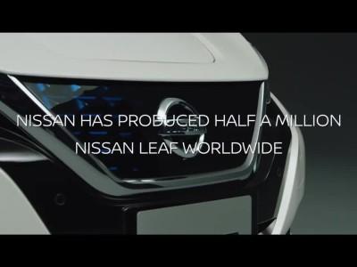 Το υπ' αριθμόν 500.000 Nissan Leaf