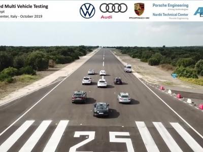 Δοκιμές αυτόνομης οδήγησης με 8 οχήματα από το VW Group