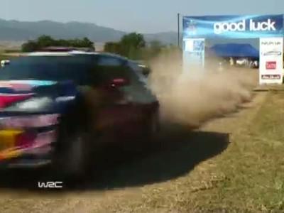 Citroen WRC 2011 - Acropolis Rally - Day 1