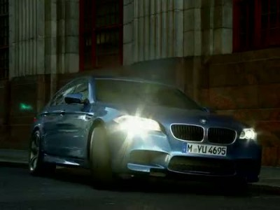 The New BMW M5. Exclusive New Advert.