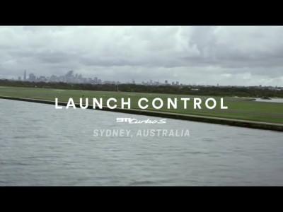 Porsche 911 Turbo S Launch control