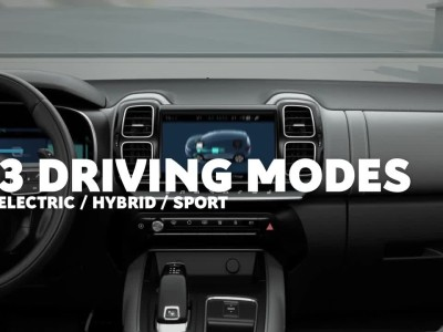 Citroen C5 Aircross SUV Hybrid - 3 Driving Modes
