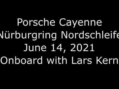 Porsche Cayenne Nurburgring Record