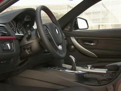BMW 335i Sport Line interior