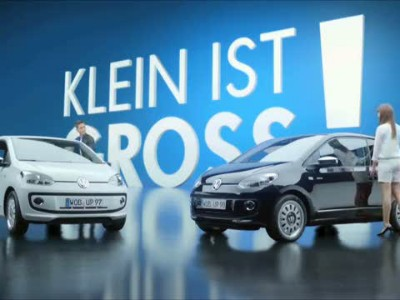 Volkswagen up! - Small is great!