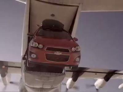 Chevy Sonic | Stunts | Skydive 1
