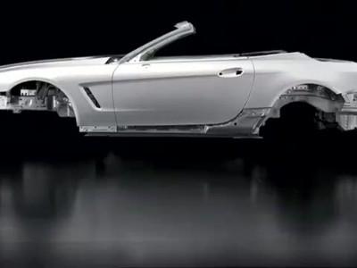 Mercedes-Benz SL : Aluminium bodyshell