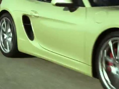 All new 2013 Porsche Boxster