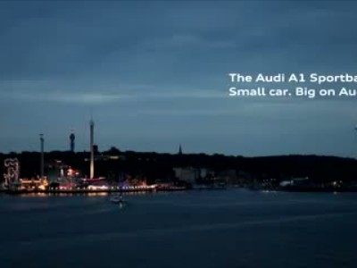 Audi A1 Sportback - Small car. Big on Audi.