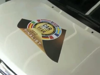Opel Ampera Car of the Year 2012